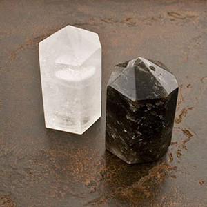 $120.00 QUARTZ SALT AND PEPPER SHAKER