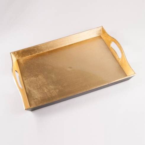 $20.00 GOLD RECTANGLE TRAY
