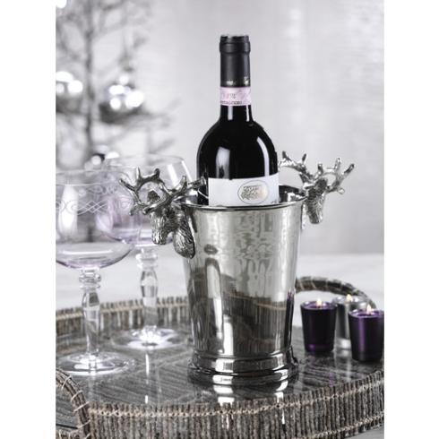 $58.00 REINDEER WINE HOLDER