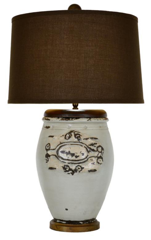 $352.00 POTTERY LAMP