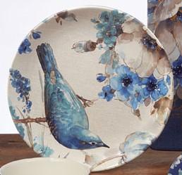 $16.99 Indigold Bird Dinner Plate