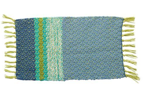 $9.99 Blue Ridge Rib Placemat, Blue & Green