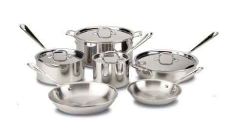 $699.99 d3 Stainless 10 Piece Cookware Set