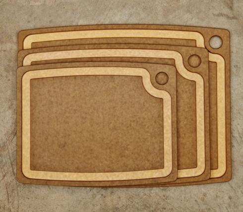 "$79.99 Gourmet Series 20"" x 15"" Cutting Board"