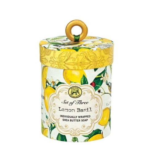 $21.99 Lemon Basil Soap, Set of 3