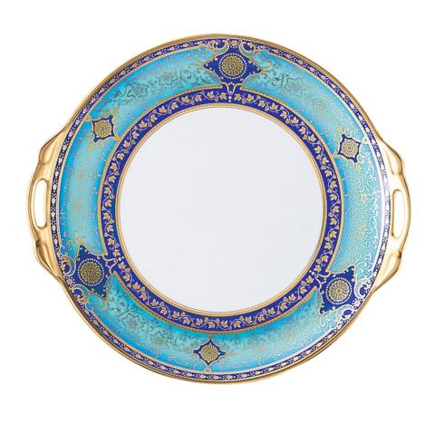 $495.00 Grace Cake Plate with handles