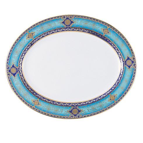 """$985.00 Grace 15"""" Oval Platter"""