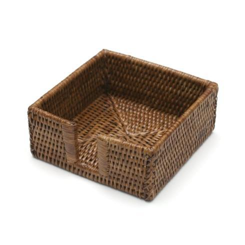 $19.50 Rattan Cocktail Napkin Holder