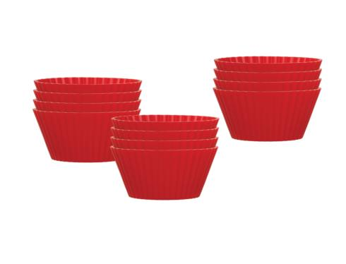 $10.00 Silicone Muffin Cups, Set of 12