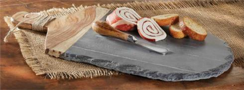 $33.00 Slate & Wood Board Set
