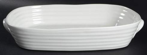 $62.00 Sophie Conran White Lg Handle Rectangular Roaster