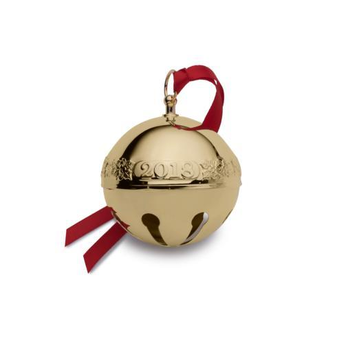 $54.99 Gold Plated Sleigh Bell, 29th Edition