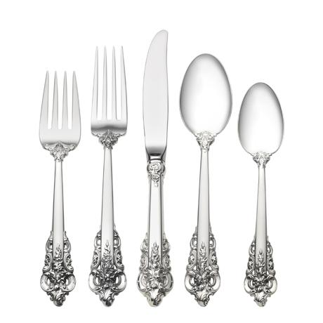 $8,500.00 46 Piece Set, Place Size with Dessert Spoon. Service for 8