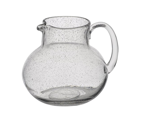 $42.00 Iris Pitcher - Clear