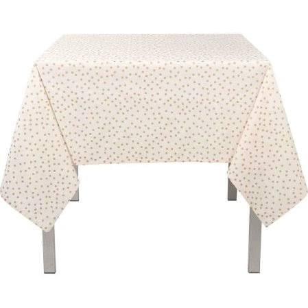 $33.00 Gold Polka Dot Table Cloth