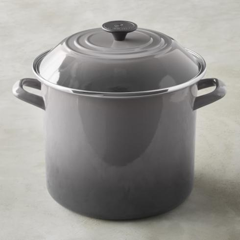 $100.00 Stock Pot, Oyster Grey