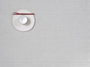 $14.00 Mini Basketweave Placemat White