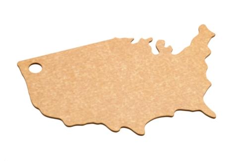$30.00 USA Shape Cutting Board