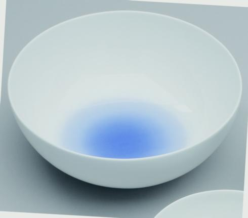 $55.00 CLOUD INDIGO BLUE 22CM BOWL