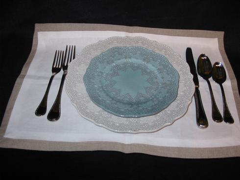 $35.00 Two Tone Linen Placemat