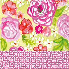 $6.25 Rose Garden Luncheon Napkin