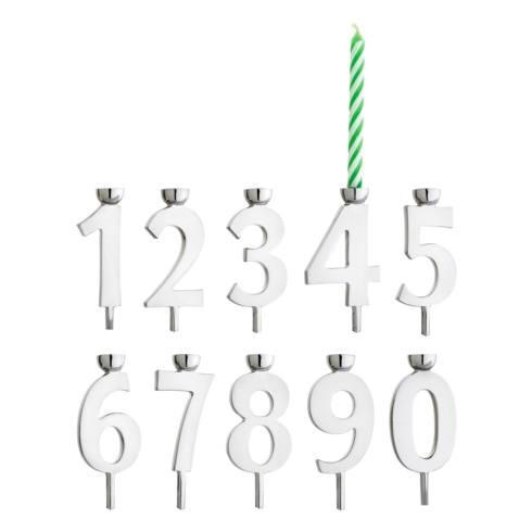 $50.00 Numeric Candle Holder Set
