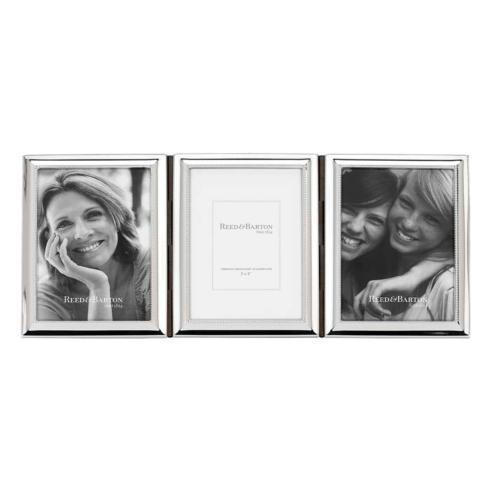 "$130.00 3 x 5"" Triple Picture Frame"