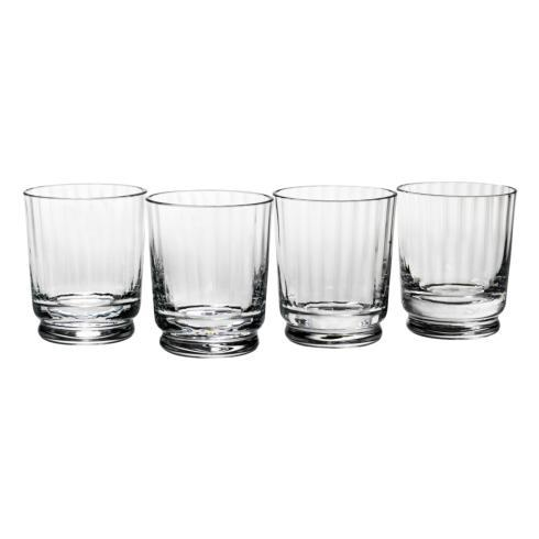 $80.00 Austin Double Old Fashioned Glass, Set of 4