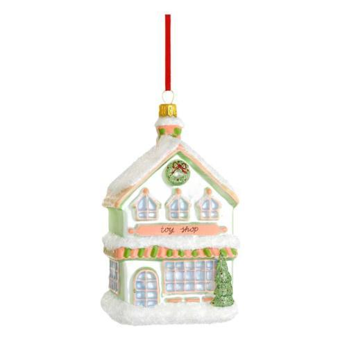 $40.00 Toy Shop Blown Glass Ornament