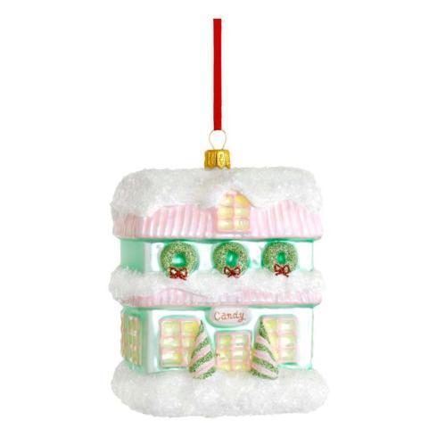 $40.00 Candy Shop Blown Glass Ornament