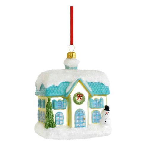 $40.00 Cottage Blown Glass Ornament