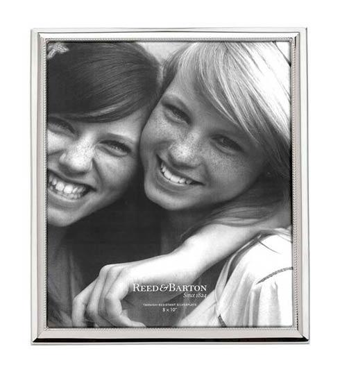 "$100.00 8 x 10"" Silverplate Picture Frame"