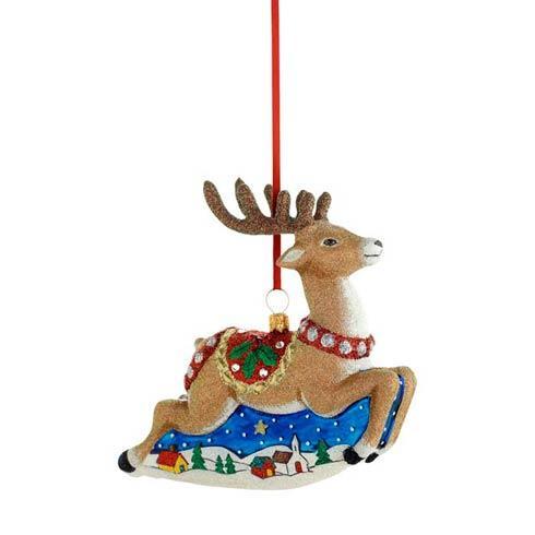 $75.00 Classic Reindeer Ornament