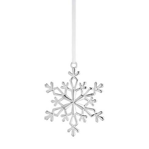 $155.00 Annual Snowflake Sterling Ornament