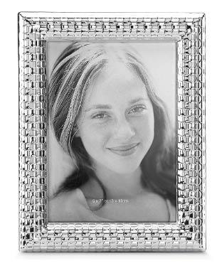 "$60.00 Silver 5"" x 7"" Photo Frame"