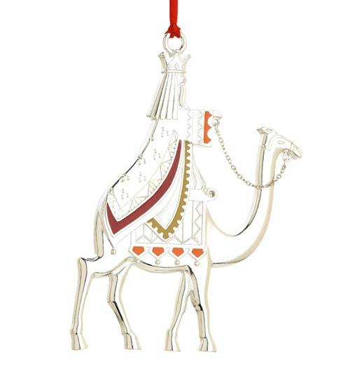 """$25.00 Silverplated Ornament """"Nativity Series - King Melchior"""" (1st edition)"""