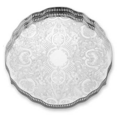 """$320.00 Gallery 12"""" D. Round Tray"""