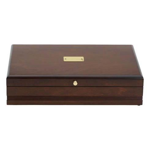 $125.00 Taunton Flatware Chest, Mahogany