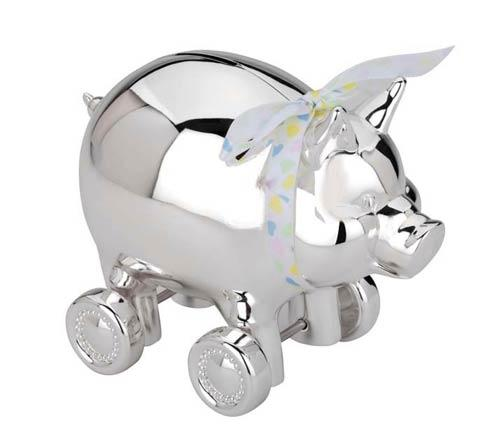 $50.00 Piggy with Wheels Bank