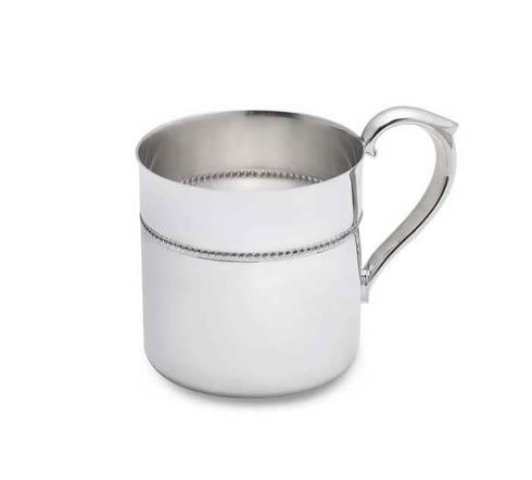 $70.00 Royal Bead Silverplate Baby Cup