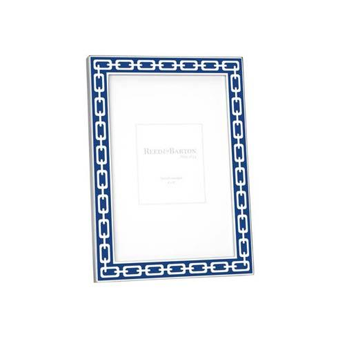 """$45.00 Navy 4 x 6"""" Picture Frame"""