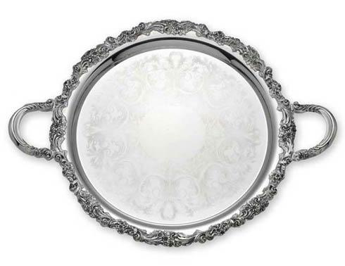 $250.00 Round Tray with Handles