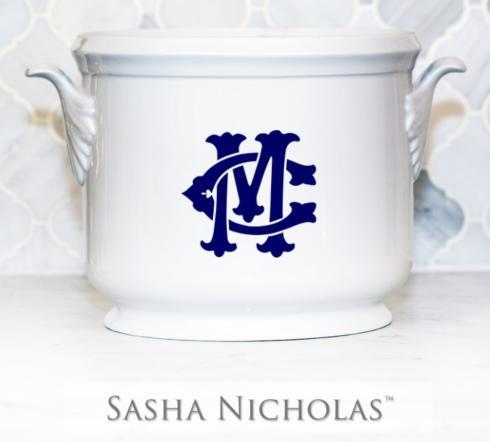 $185.00 Champagne Bucket~Custom Monogram Camp-Montgomery