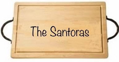 "$161.00 18"" Rectangular Cutting Board with Handles-Santora"