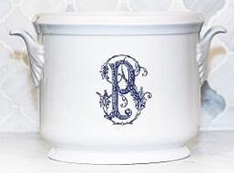 $185.00 Champagne Bucket~Custom Monogram Williams~Patel Registry