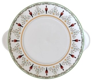 $181.00 Grenadiers Cake Plate with Handles
