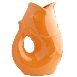 $44.00 Orange Gurgle Pot
