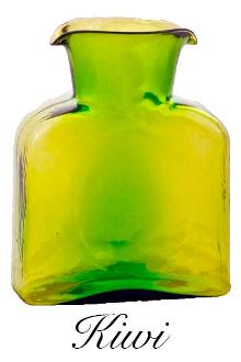 $54.00 Blenko Water Bottle Kiwi