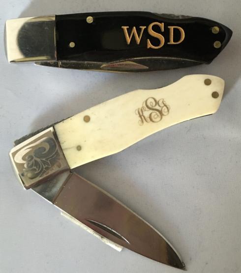$35.00 Pocket Knife with Bone Handle