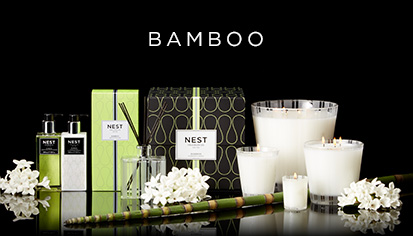 $14.00 Bamboo Votive Candle